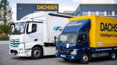 eActros we flocie Dachser